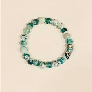 ALEX AND ANI bead bracelet /rhinestones